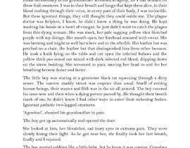 Nro 31 kilpailuun Write a short story set at the years of the Black Death pandemic käyttäjältä farzeenrahman09