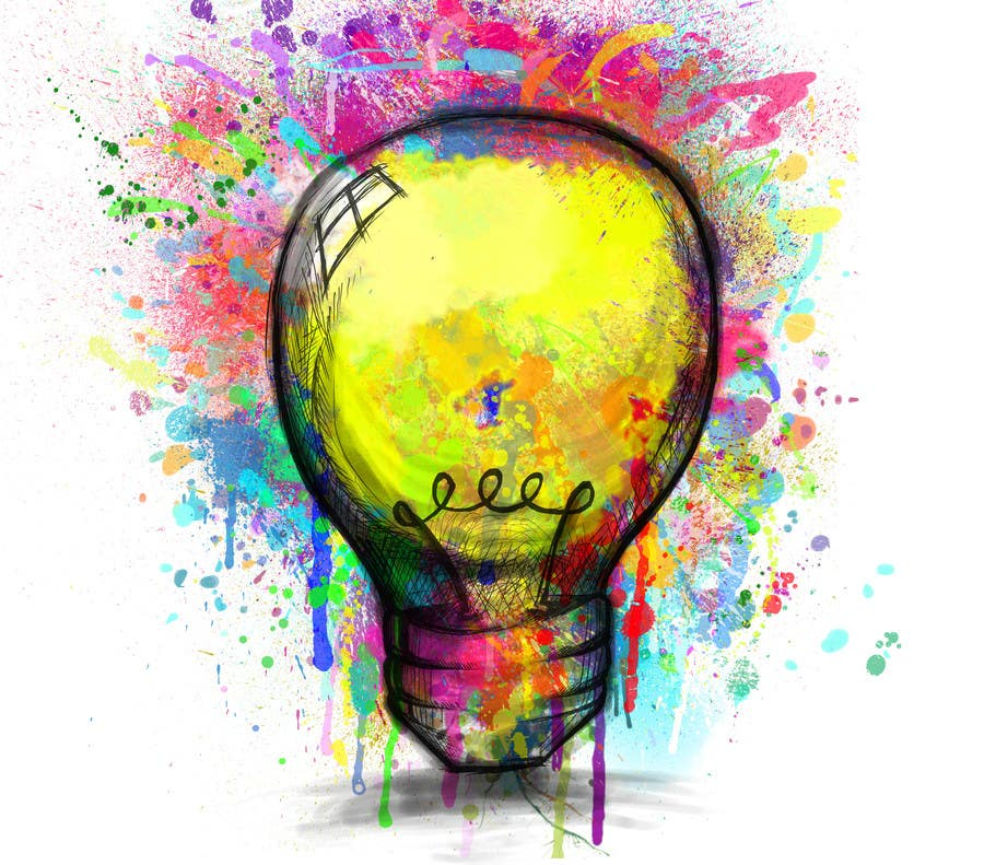 Proposition n°                                        17                                      du concours                                         Design an light bulb in an abstract modern hand drawing style