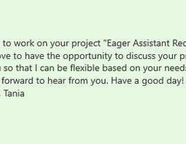 chowdhurytania69 tarafından Eager Assistant Required için no 5