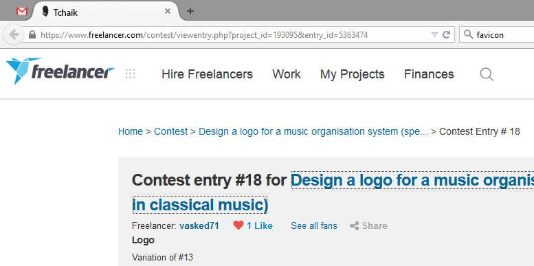 Konkurrenceindlæg #                                        19                                      for                                         Design a logo for a music organisation system (specialising in classical music)