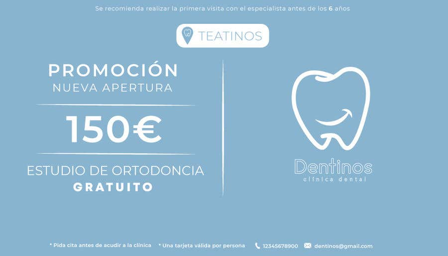 Konkurrenceindlæg #                                        33                                      for                                         Tarjeta regalo de estudio de ortodoncia