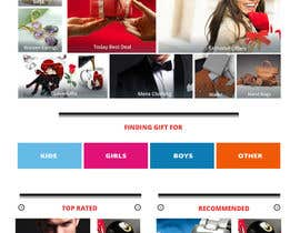 #4 cho Website Design for Gifts and Souvenirs online store  PSD only bởi harrywalia