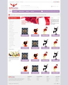 #17 untuk Website Design for Gifts and Souvenirs online store  PSD only oleh kreativeminds