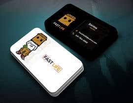 #151 untuk Fast life business cards oleh chadkpb