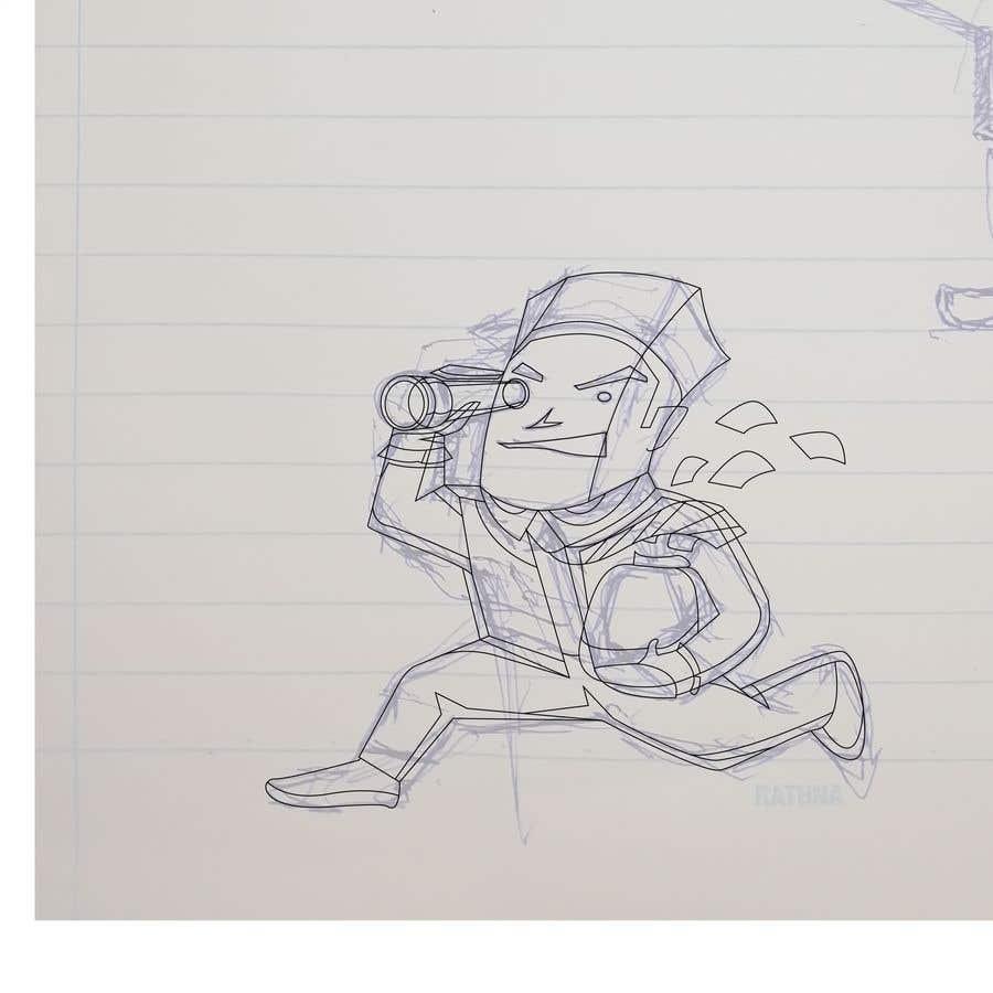 Penyertaan Peraduan #                                        60                                      untuk                                         Cartoon Mascot Contest