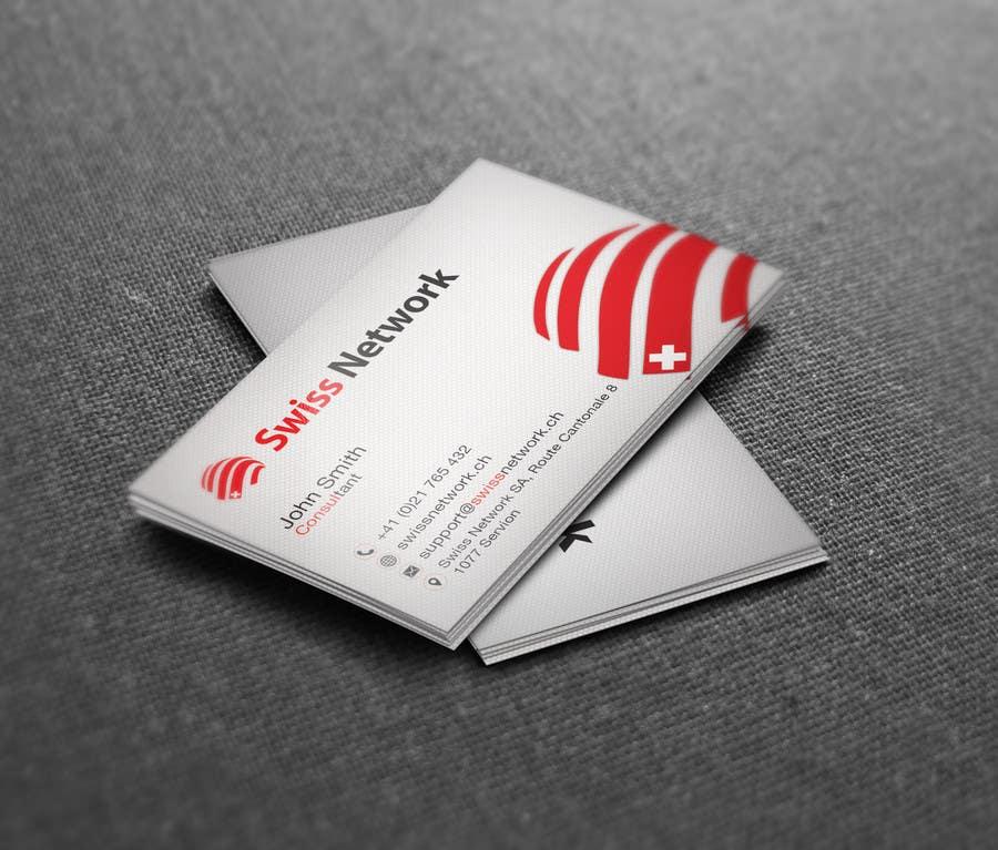 Kilpailutyö #54 kilpailussa Business card 2-sided