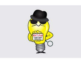 "#39 for Cartoon Character of a ""Light Bulb Detective"" by tania06"