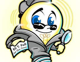 "#22 untuk Cartoon Character of a ""Light Bulb Detective"" oleh gwynmichael"
