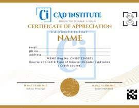 #43 for Design 2 Certificates & 1 Marksheet format (for both Digital Certification & Hard Copy) af mahatobasant111