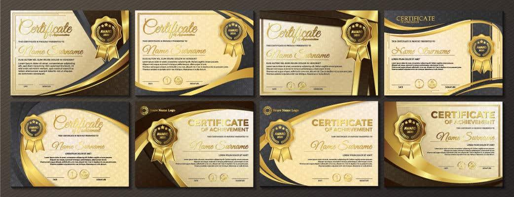 Konkurrenceindlæg #                                        41                                      for                                         Design 2 Certificates & 1 Marksheet format (for both Digital Certification & Hard Copy)