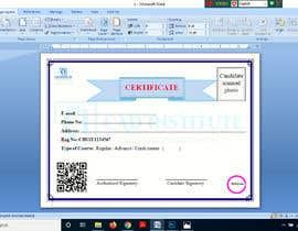 #7 for Design 2 Certificates & 1 Marksheet format (for both Digital Certification & Hard Copy) af akazad501