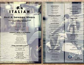 leomacatangay9 tarafından Create an attractive menu design for Italian Cafe (Ocean Beach Hotel and Spa için no 31