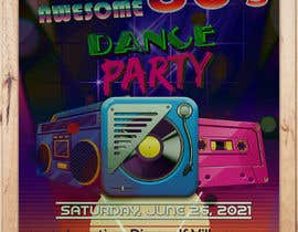 #490 for 80s  Dance Party invitation/flyer by leomacatangay9