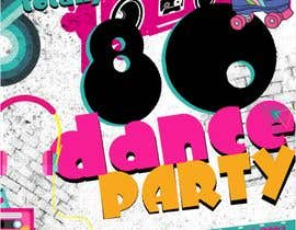 #237 for 80s  Dance Party invitation/flyer by panjamon