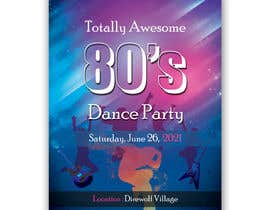 #196 for 80s  Dance Party invitation/flyer by abrarsumon