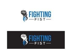 Nro 139 kilpailuun Fighting Fist Logo with DNA käyttäjältä golden515