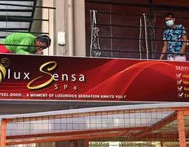 #146 untuk Design an store overhead signage for a Salon and Spa oleh ahsanhabib5477