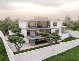 #57 for Need 3D exterior for my architectural drawings by taharbelbachir