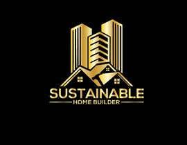 #816 untuk Sustainable Home Builder LOGO oleh khairulit420