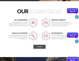 Nro 1 kilpailuun infographic sytly landing page design needed käyttäjältä asmomit