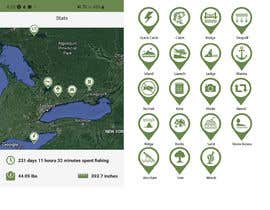 #15 untuk Design map markers for the following features oleh itsmerenjith