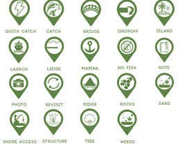 #5 untuk Design map markers for the following features oleh ahmedyahya55