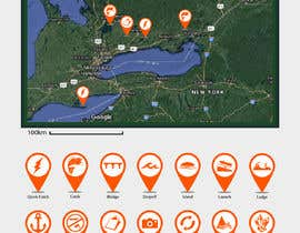 #11 untuk Design map markers for the following features oleh DulajGraphic
