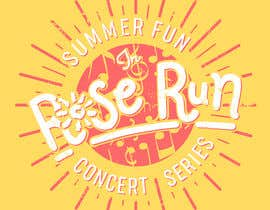 #154 for Summer Fun Rose Run Concert Series Logo for Tee shirts by NamiKim