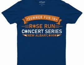 #182 for Summer Fun Rose Run Concert Series Logo for Tee shirts by raselstatiub