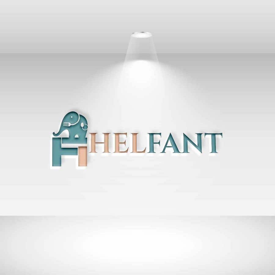 """Konkurrenceindlæg #                                        56                                      for                                         Design a logo for my restaurant """"Helfant"""". Which means Elephant and is a healthy Bowl restaurant."""