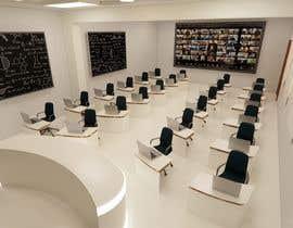 #34 cho Create a Hybrid Classroom Design in 3D - Where Collaboration, Innovation, and Creativity is utilized bởi freshr68