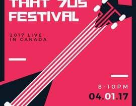 nº 48 pour Create Posters for a Music Festival par malimali110
