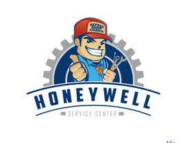 #45 para Design a Logo for Honeywell Service Center por Spookymonsta