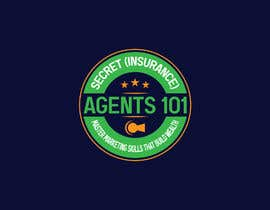 """#88 for New Logo for, """"Secret (Insurance) Agents 101: Master Marketing Skills That Build Wealth"""" by GDMrinal"""