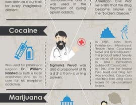nº 11 pour I need 2 infographic designs about drug use in the US par hanialhoussien