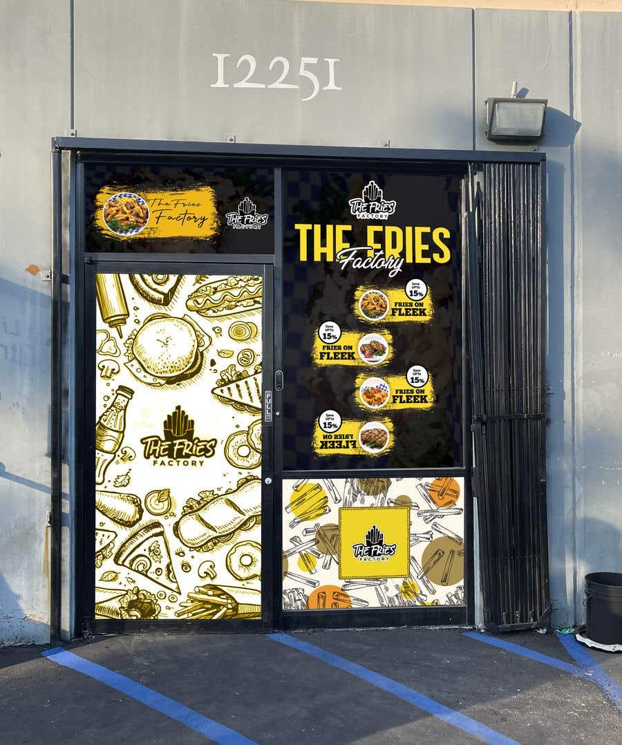 Inscrição nº                                         26                                      do Concurso para                                         Design Door Decal Vinyl Wrap