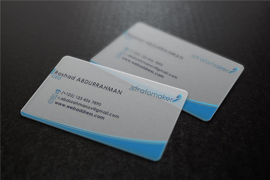 Contest Entry #                                        10                                      for                                         Business card