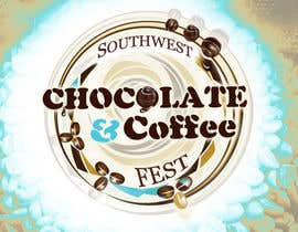 #246 dla Logo Design for The Southwest Chocolate and Coffee Fest przez chitree