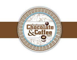 #224 dla Logo Design for The Southwest Chocolate and Coffee Fest przez crOix89
