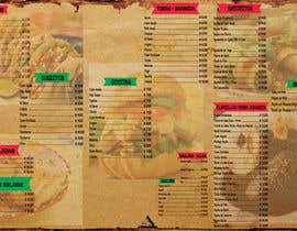 #7 for Menu design by deepakpirates