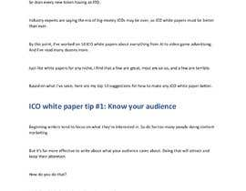 #6 para Whitepaper idea wanted for a new Token por Veshali34