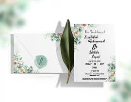 #63 untuk wedding ceremony invitation card oleh Rishmiwatagala