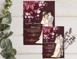 #59 untuk wedding ceremony invitation card oleh joyhalderjoy