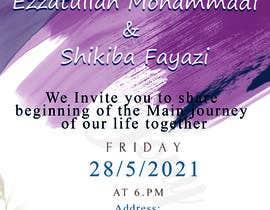 #51 untuk wedding ceremony invitation card oleh jony2021
