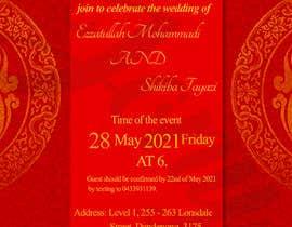 #55 untuk wedding ceremony invitation card oleh jony2021