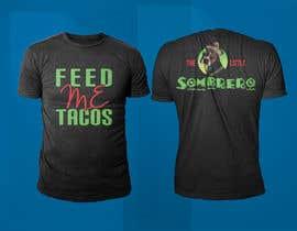 #128 para T-Shirt Design Little Sombero por rashedul1012