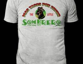 #133 para T-Shirt Design Little Sombero por rashedul1012