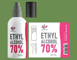 #47 for Alcohol spray 125ml label design by shiblee10