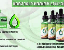 #5 for Design a Banner for Crystal E Liquid - PG/VG Line by sweetys1