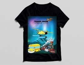 #3 для Travel More Stream Less tshirt от farhanabir9728